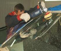 Полировка стекло на вашем автомобиле